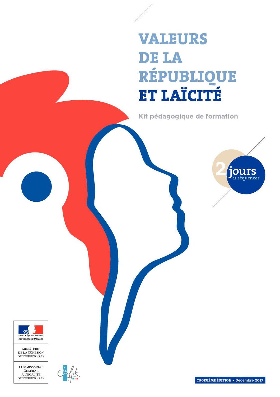 Dernières places pour la Formation gratuite aux Valeurs de la République et Laïcité !