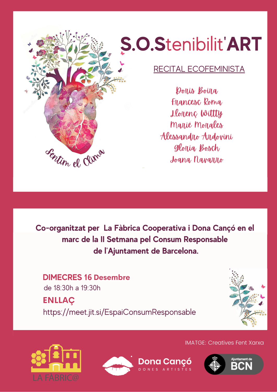 RECITAL ECOFEMINISTA. Altres narratives per a la transformació eco-social als nostres barris i al món
