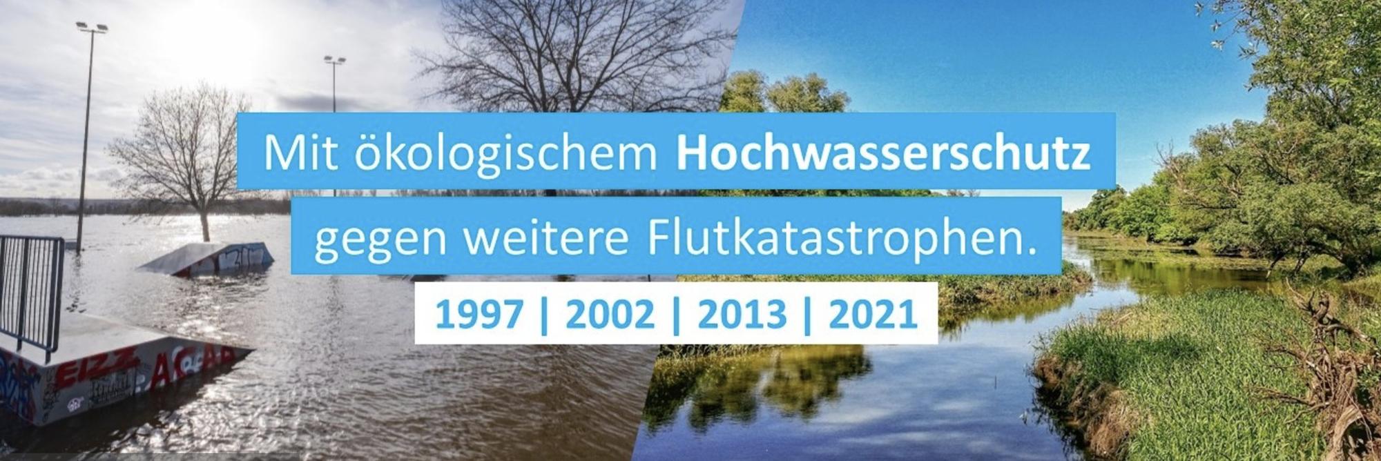 Hochwasserschutz und Wiederaufbau