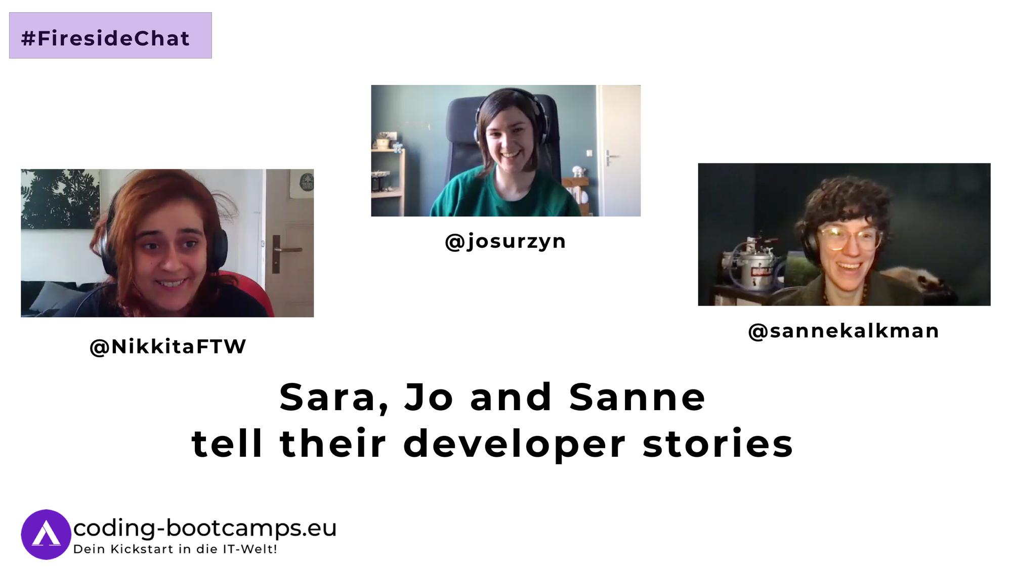 Women in Tech: Fireside Chat mit drei Entwicklerinnen