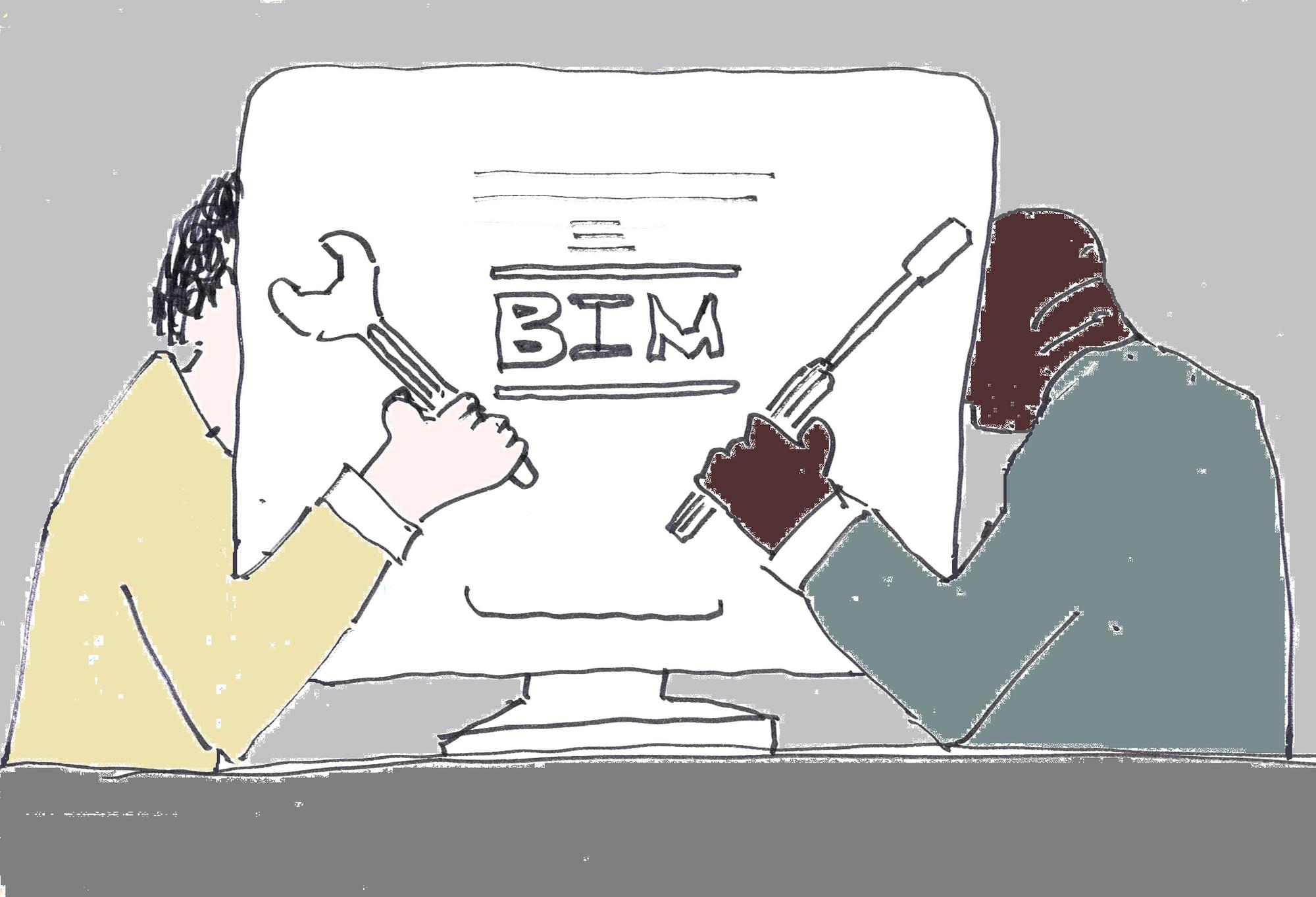 Et si on faisait fièrement du BIM bricolage ?