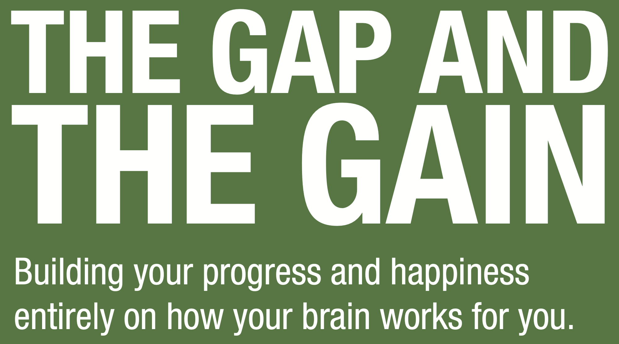 Buchbesprechung: The Gap and the Gain