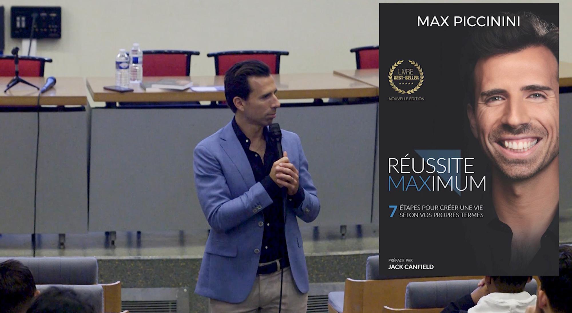 Une retransmission en direct de Max Piccini. Ce streaming  est disponible en ligne sur YouTube. La captation a été réalisée par  nos équipes via des écrans...
