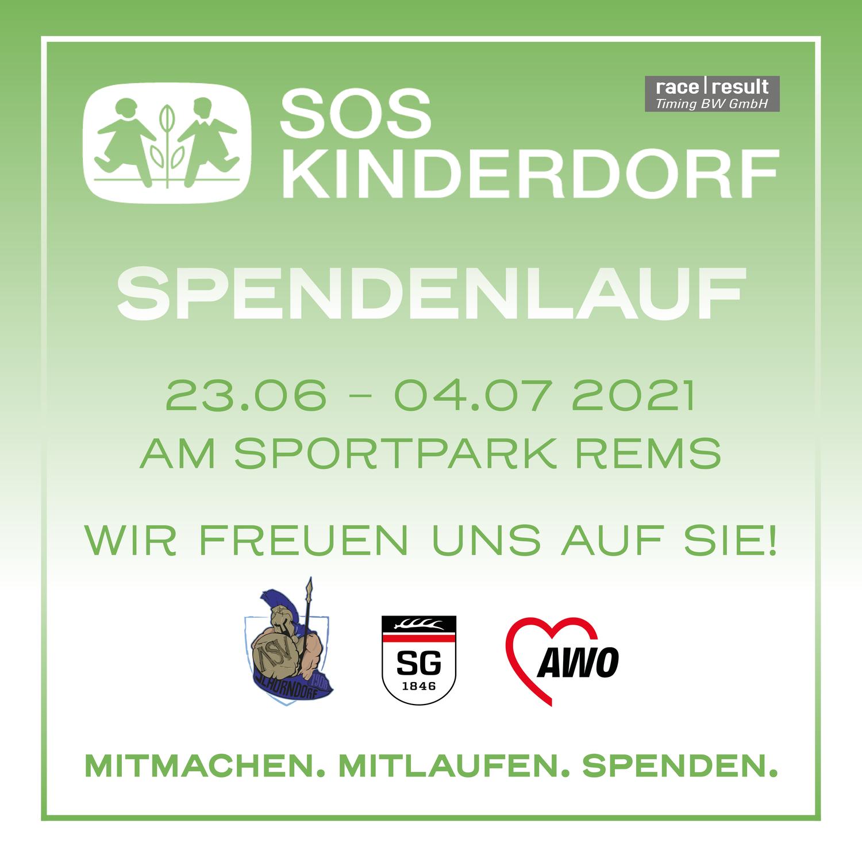 Spendenlauf für das SOS Kinderdorf