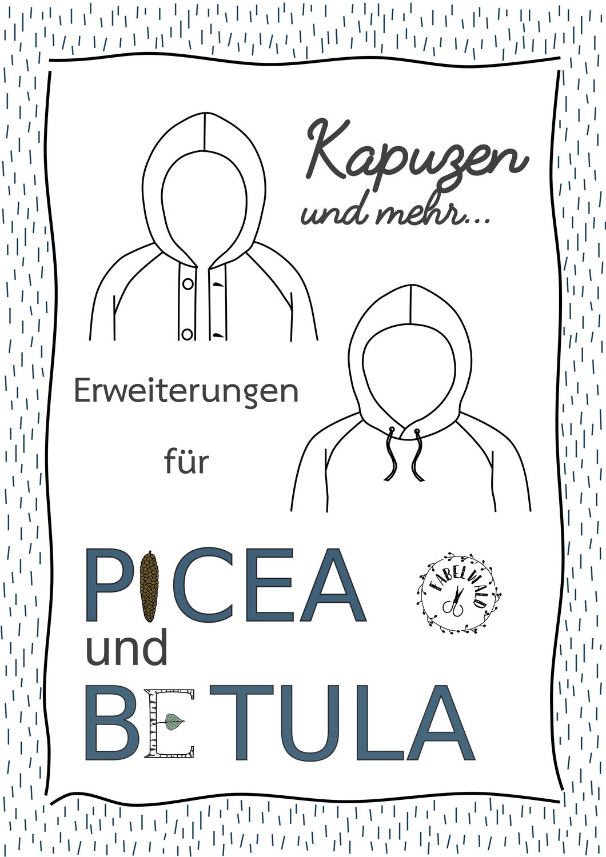 Neu: Kapuzen für Betula und Picea