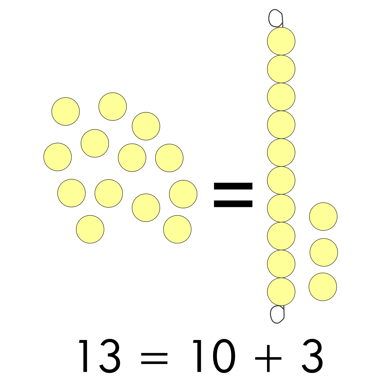 A Golden Tool to teach the Decimal System