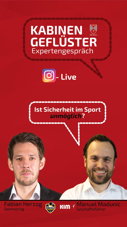 Ist Sicherheit im Sport unmöglich? Kabinengeflüster Expertengespräch mit Fabian Herzog und Manuel Madunic