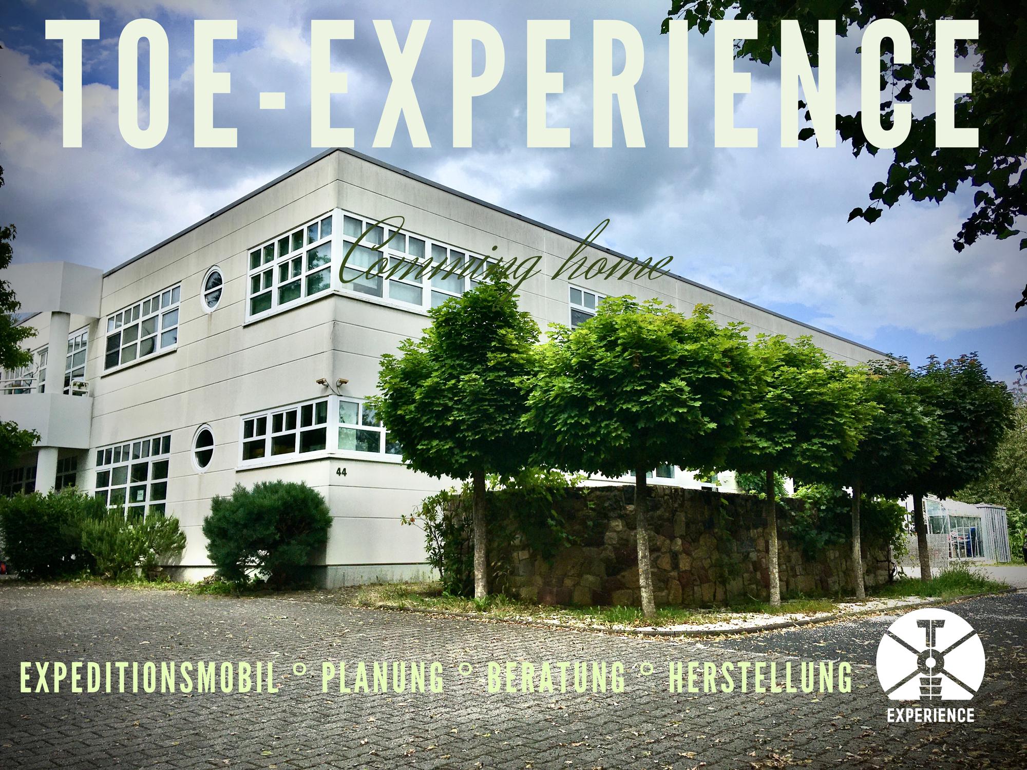 TOE-Experience wieder sesshaft - Beratung, Planung und Herstellung vor Ort
