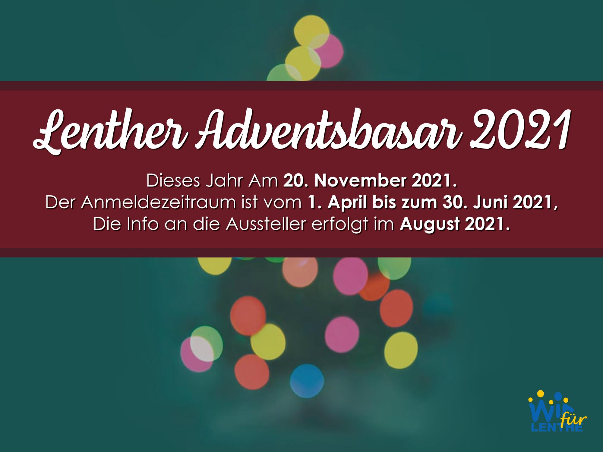 Lenther Adventsbasar 2021