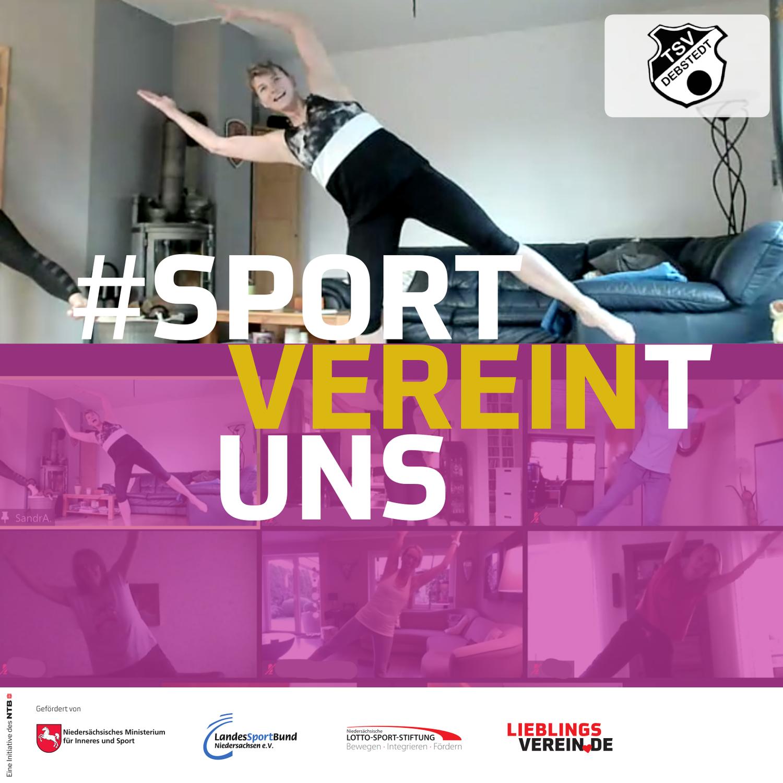 Sport verbindet, Sport vereint uns!
