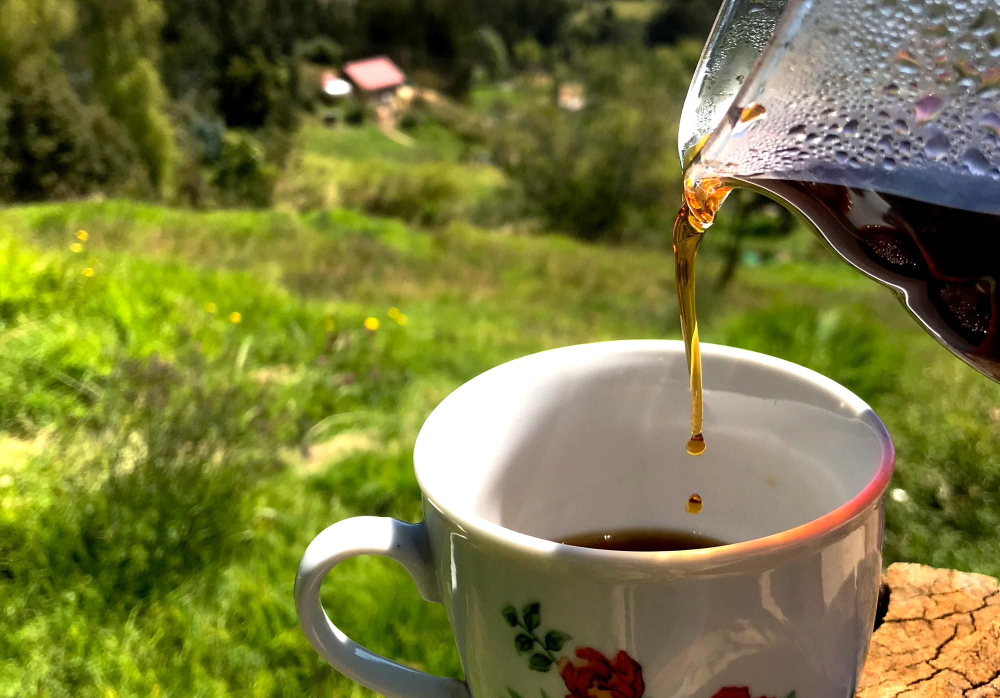 Café en olla