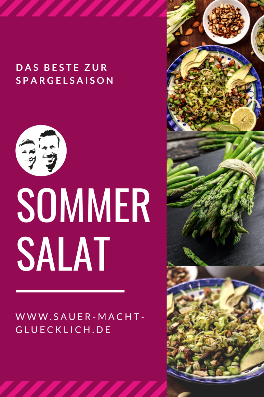 Fenchel Spargel Salat - Dein Frühlingssalat für die Spargelsaison