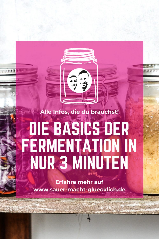 Gemüse fermentieren - die absoluten Basics in nur 3 Minuten