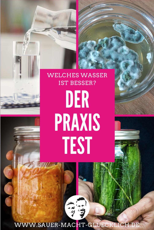 Unterschiedliches Wasser in der Fermentation - Unser Praxistest