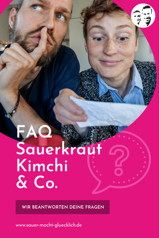 Sauerkraut/ Kimchi/ Fermentation & Co. - Wir beantworten deine Fragen