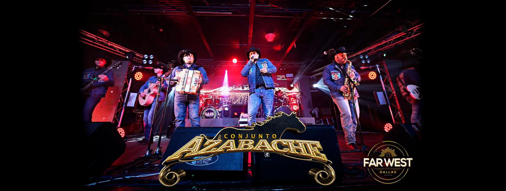 Con GRAN ÉXITO se presentó Conjunto Azabache en el Far West de Dallas, Texas.