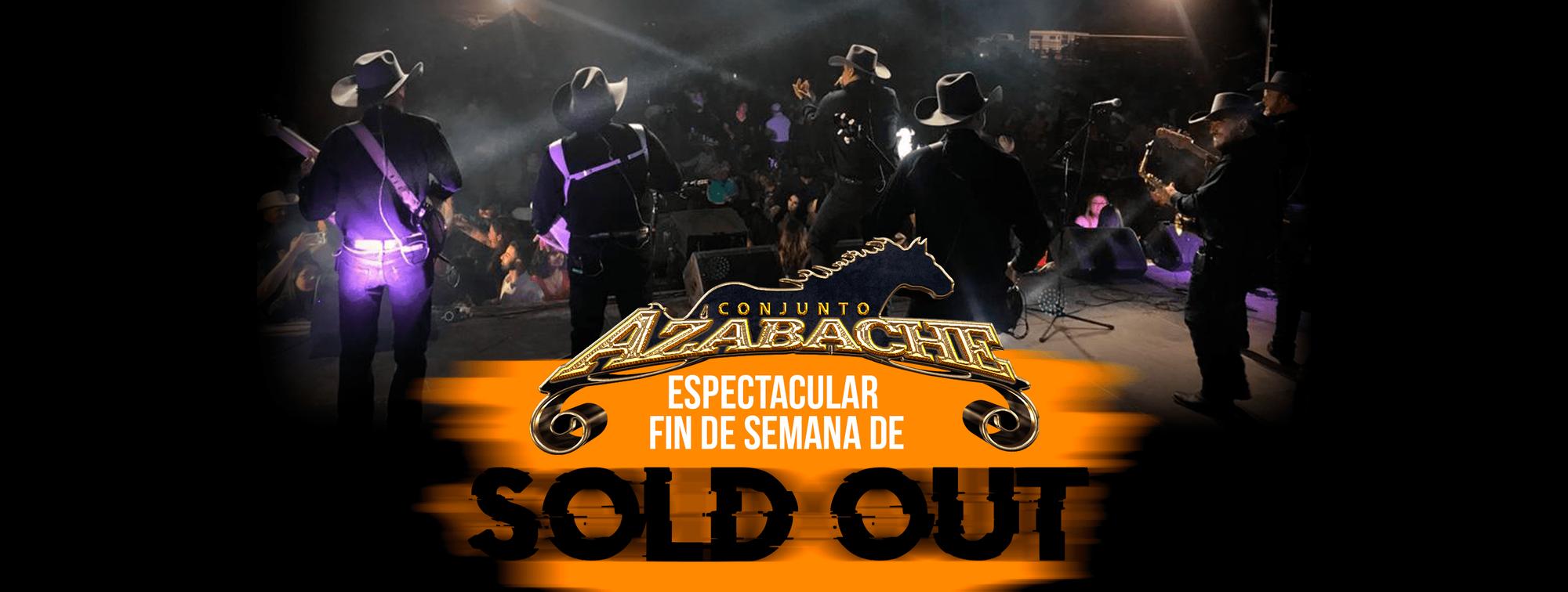 Conjunto Azabache en Espectacular Fin de Semana de Sold Out