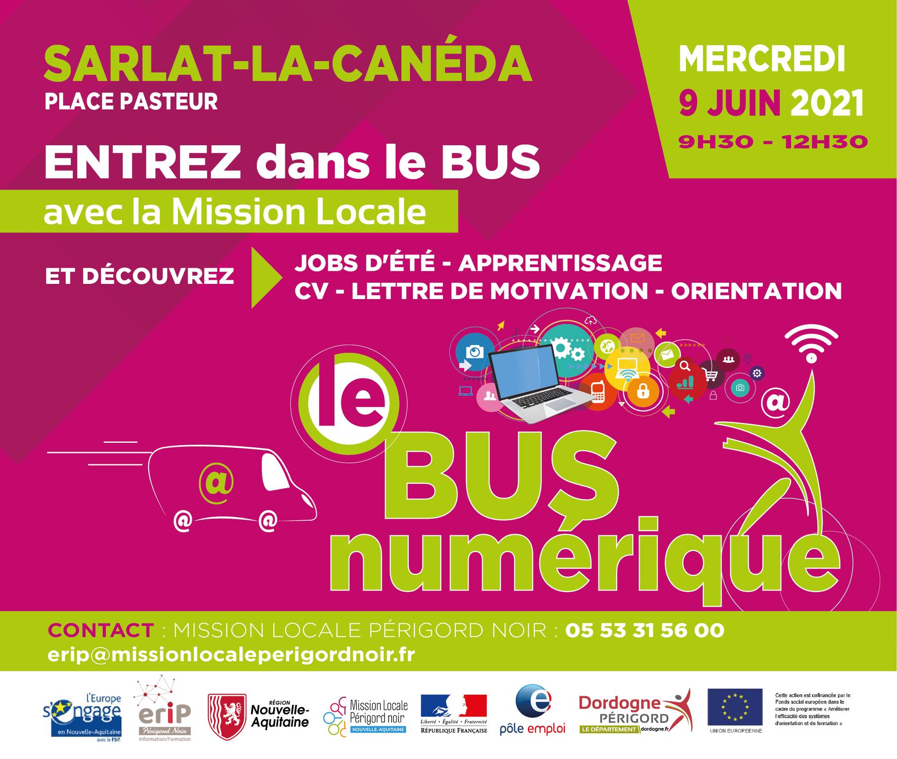 Bus Numérique - St André d'Allas