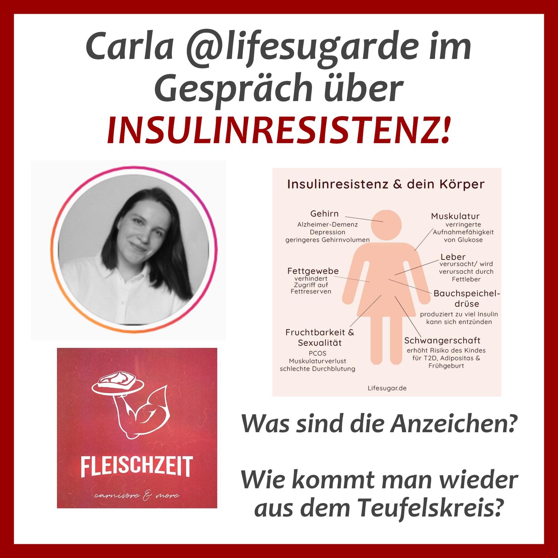 Carla über Insulinresistenz