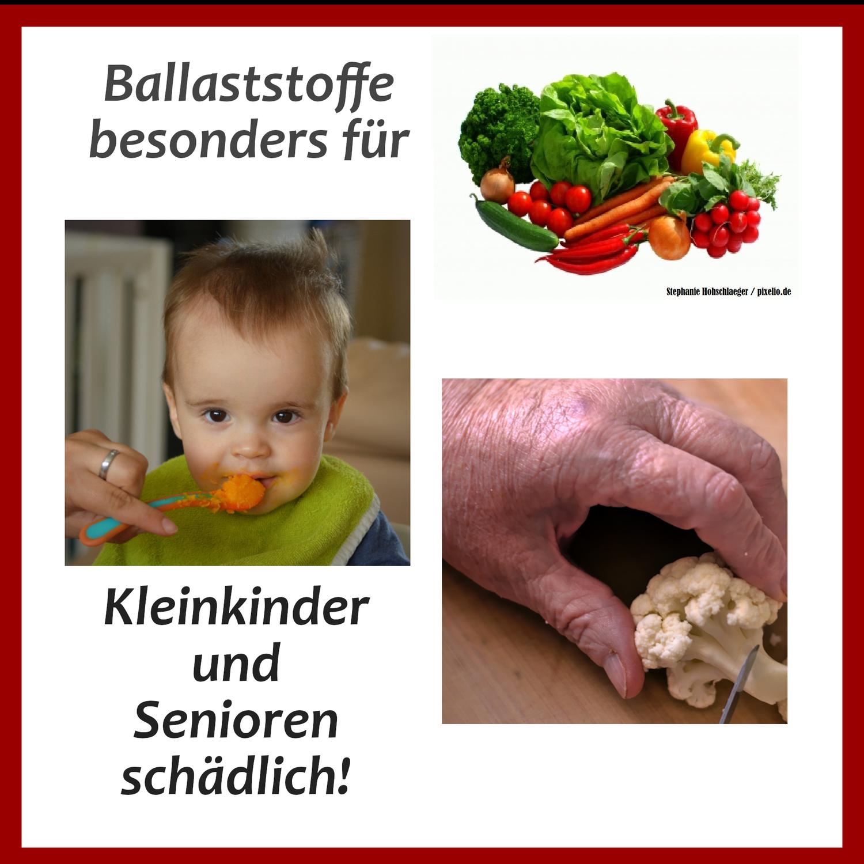 Ballaststoffe für Kinder und Senioren