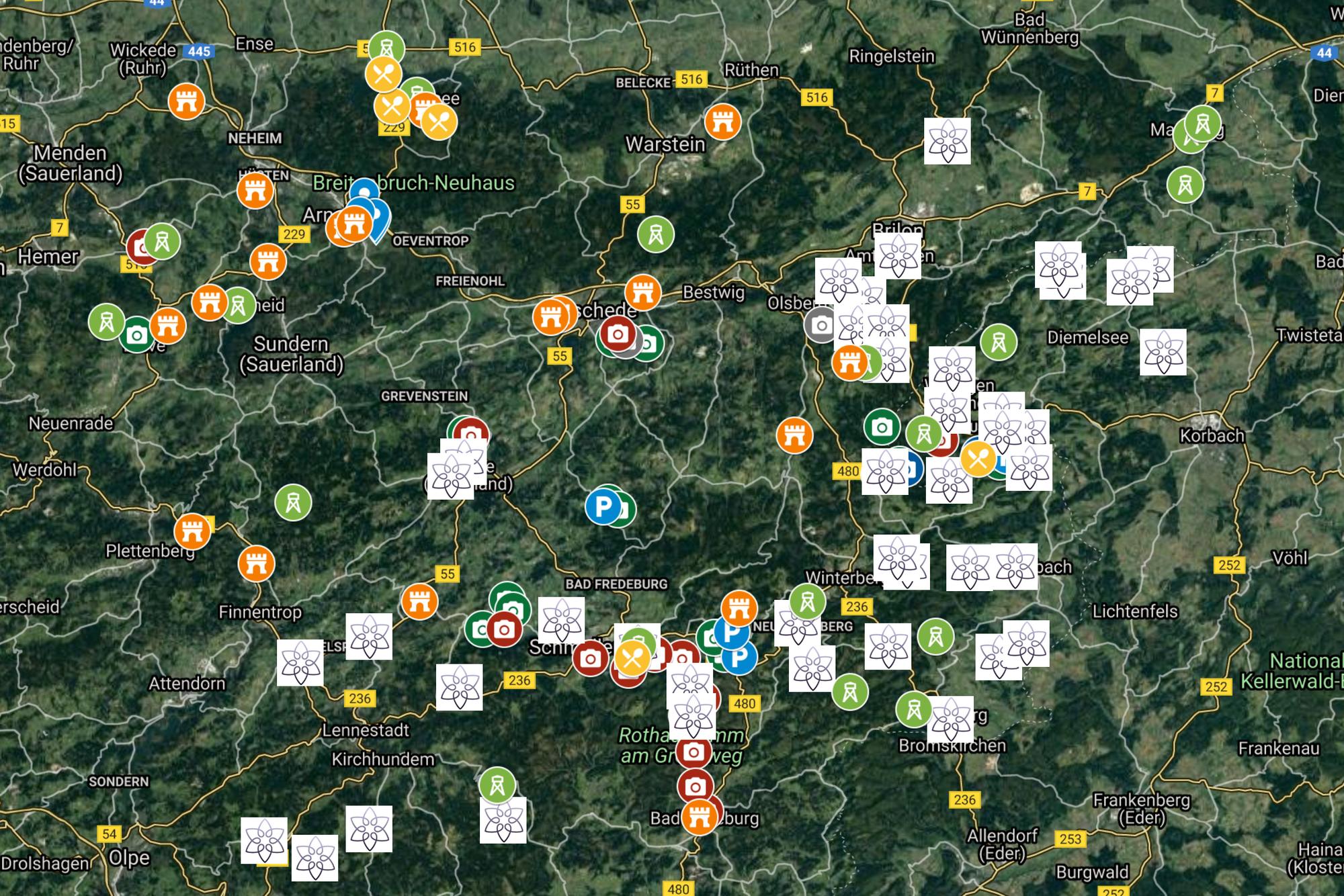 Reiseplanung mit Google My Maps