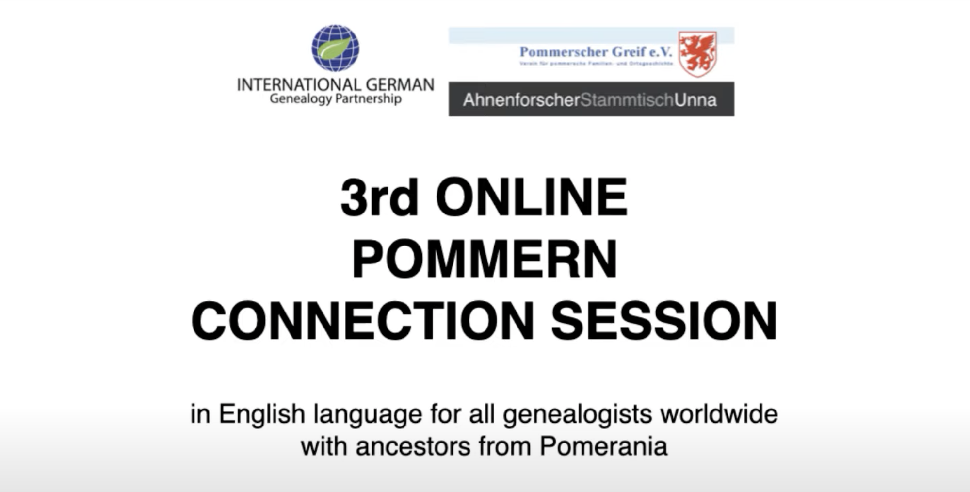 Europa, USA, Kanada, Australien - Ahnenforscher mit Vorfahren aus Pommern trafen sich beim Ahnenforscher Stammtisch Unna