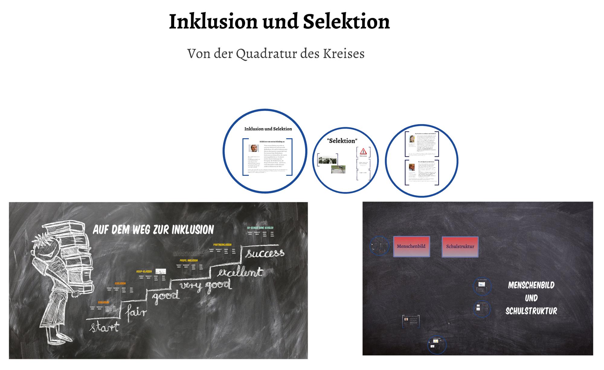Inklusion und Selektion - Von der Quadratur des Kreises