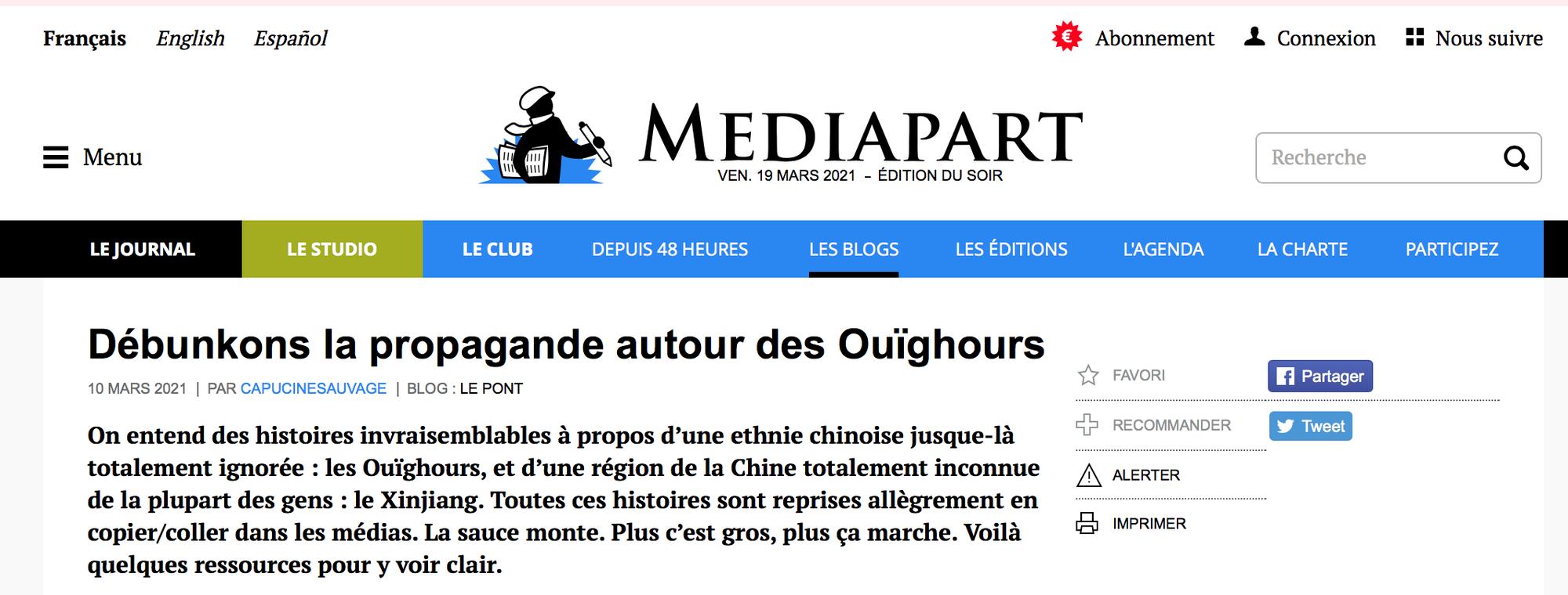 Avec Capucine Sauvage : débunkons la propagande autour des Ouïghours