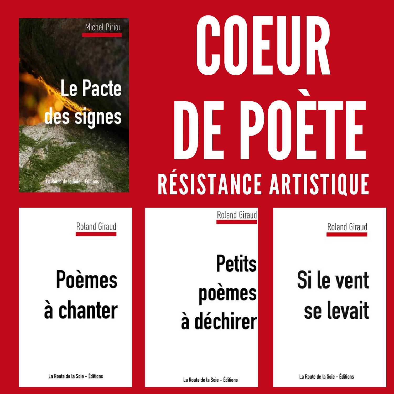 Nos poètes font de la résistance...