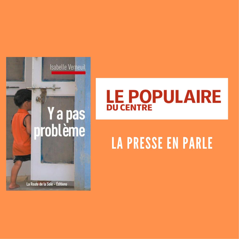 Isabelle Verneuil dans le Populaire