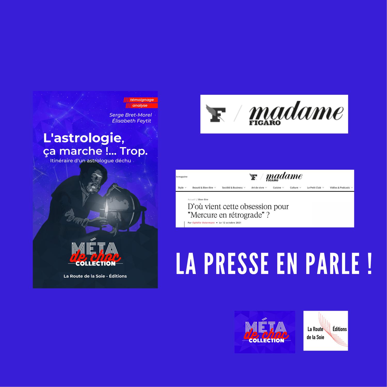 Serge Bret-Morel dans Le Figaro Madame