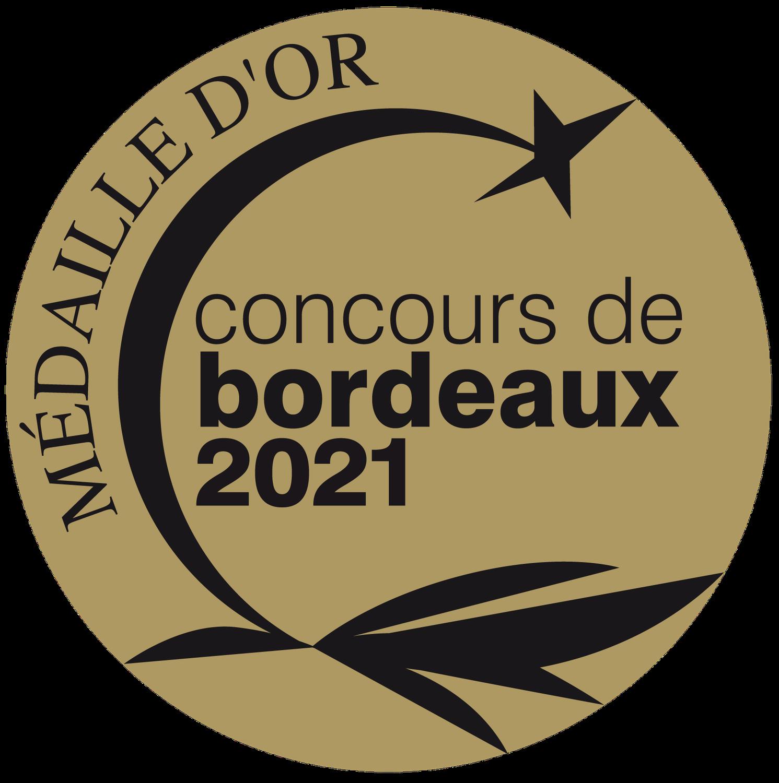 Madaille d'OR BORDEAUX Château La Ganne 2019