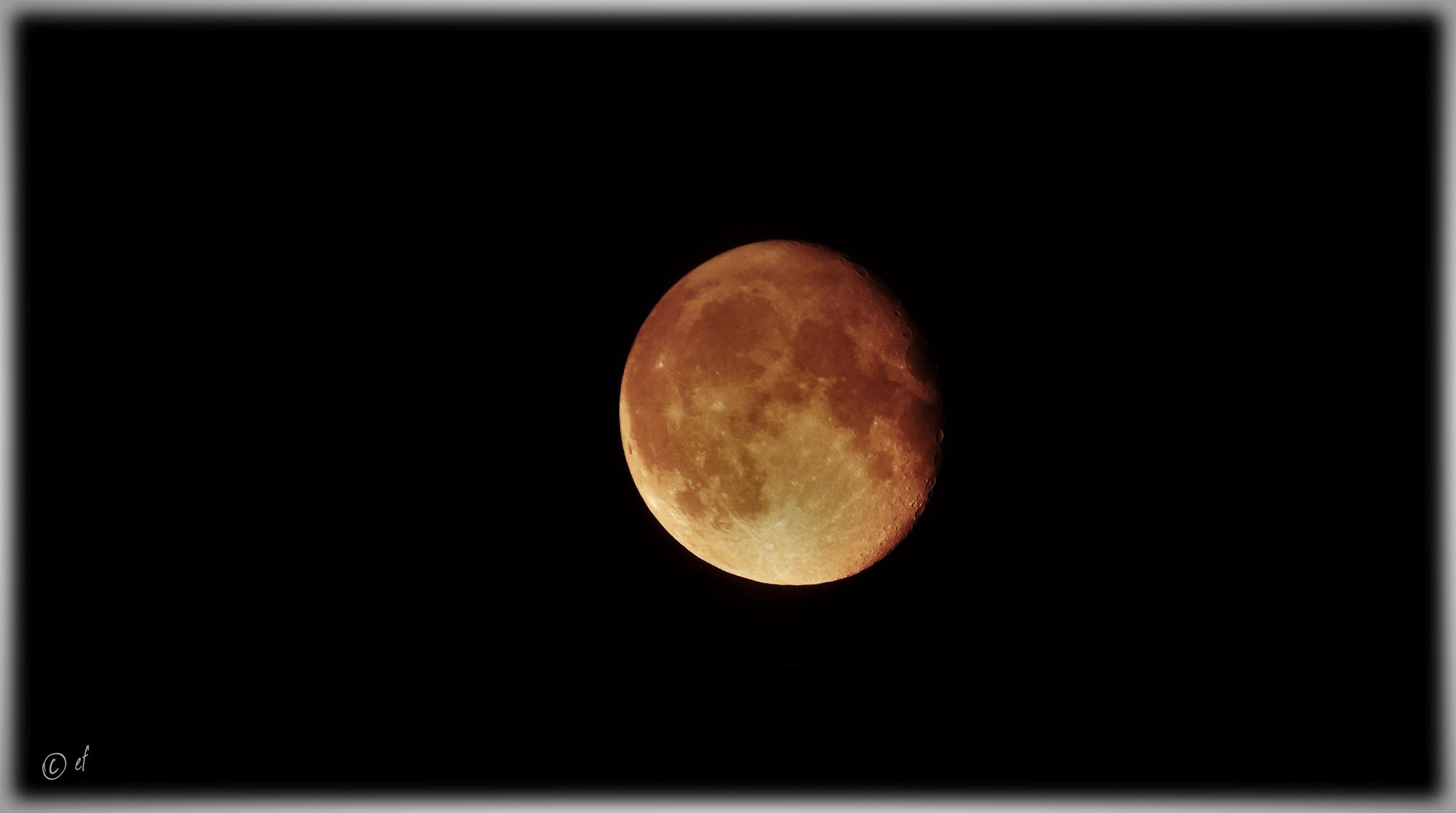 La luna - der Mond