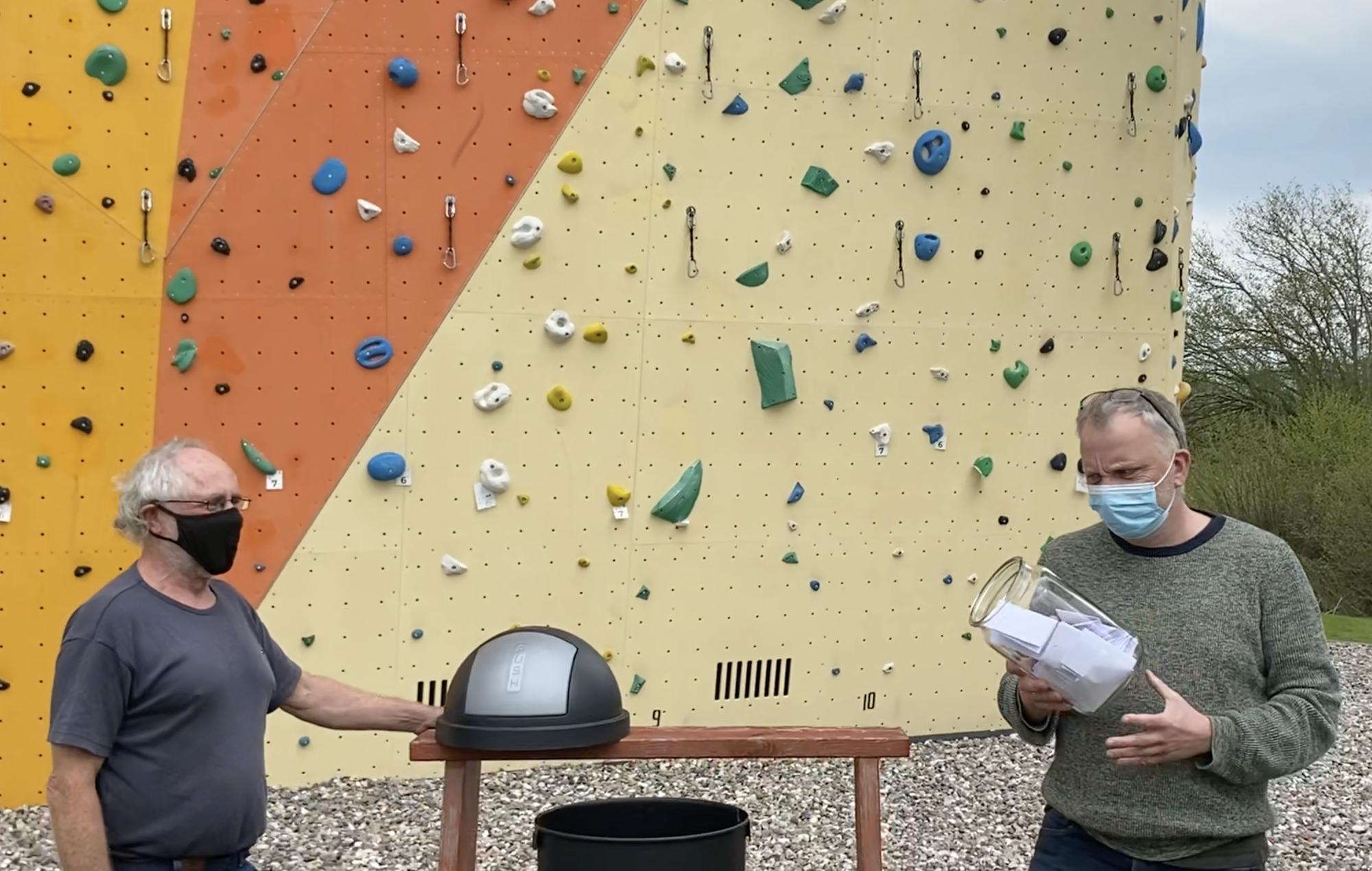 Bekanntgabe der Gewinner für das Kletterwochenende in Kiel!