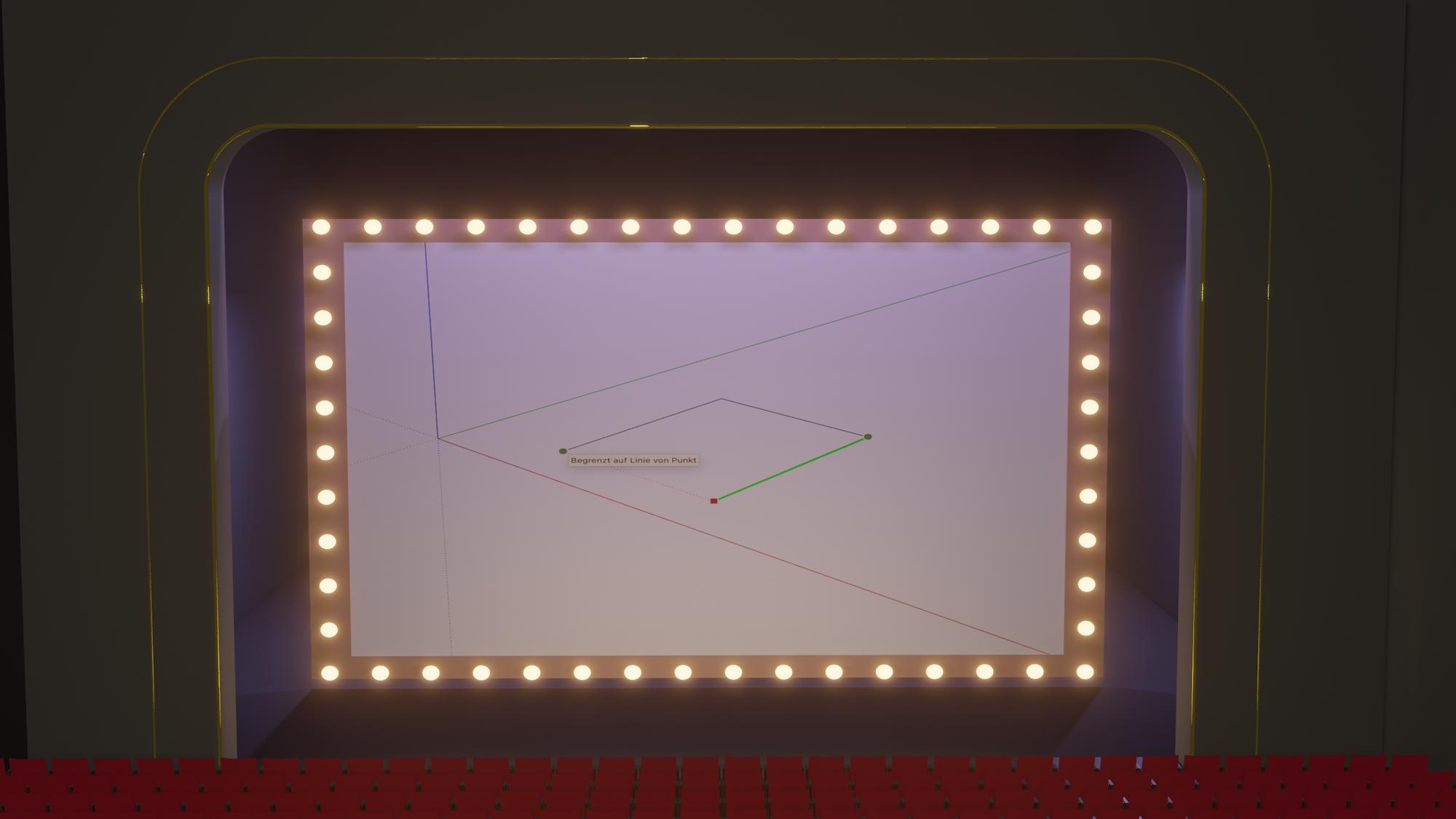 Deine ersten Skizzen mit SketchUp - Das Linienwerkzeug