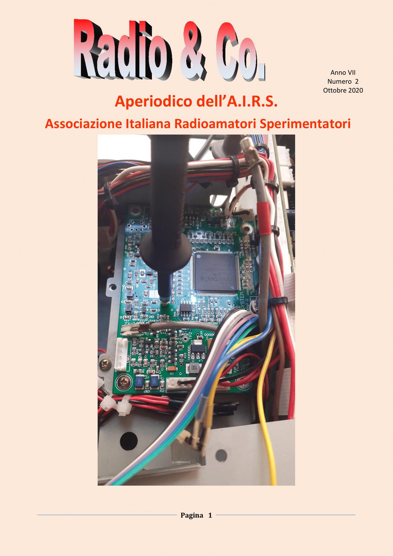 Nuovo Aperiodico A.I.R.S. n. 02/2020 del 09/11/2020