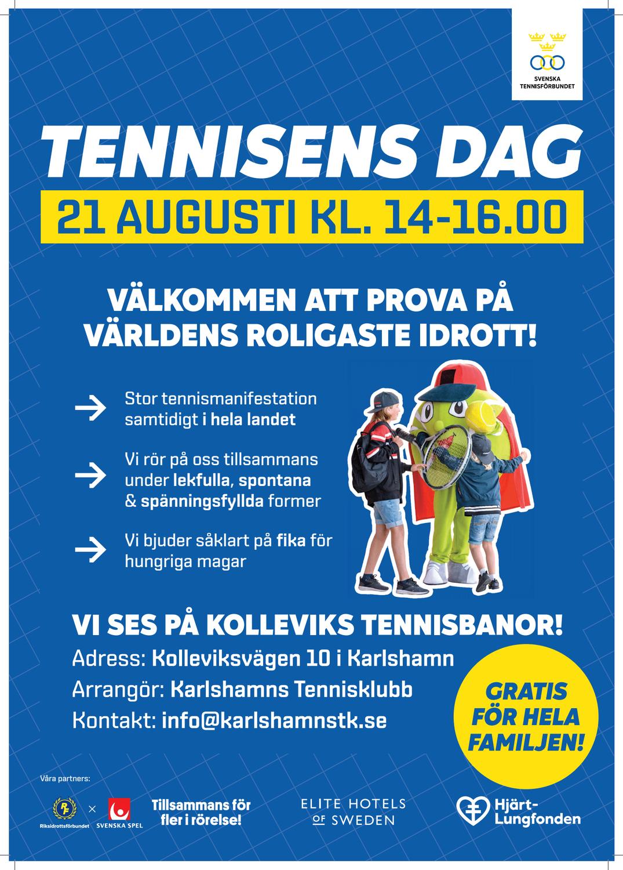Tennisen dag - prova på tennis i Kollevi!
