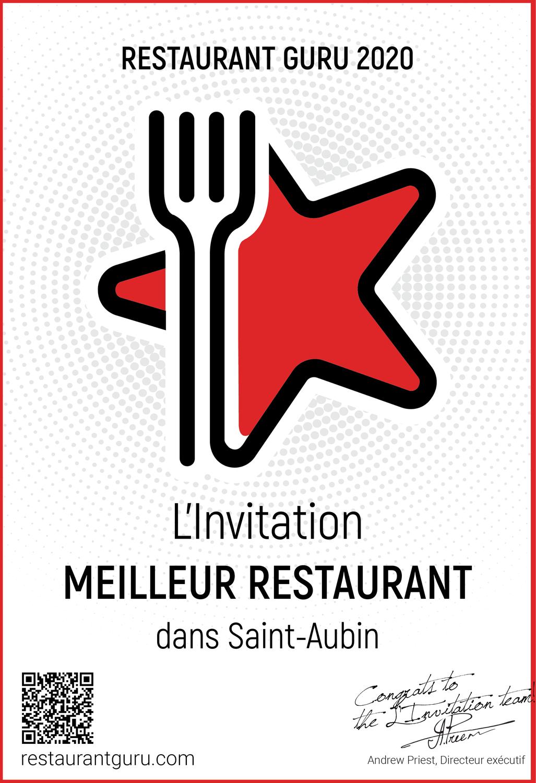Meilleur Restaurant de Saint Aubin