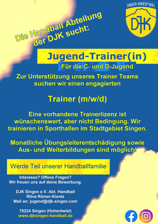 Trainer(in) gesucht