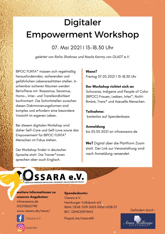 Digitaler Empowerment Workshop