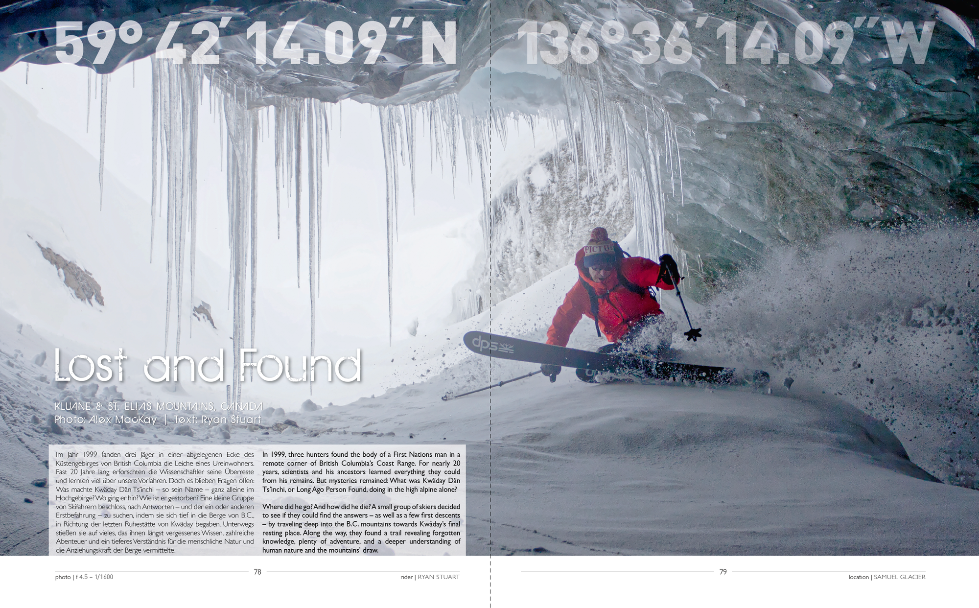 """""""Lost and Found"""" - Backcountry Skiing Story by Alex MacKay and Ryan Stuart"""