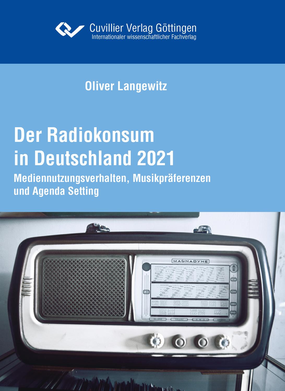 """Buch """"Der Radiokonsum 2021"""" erschienen"""