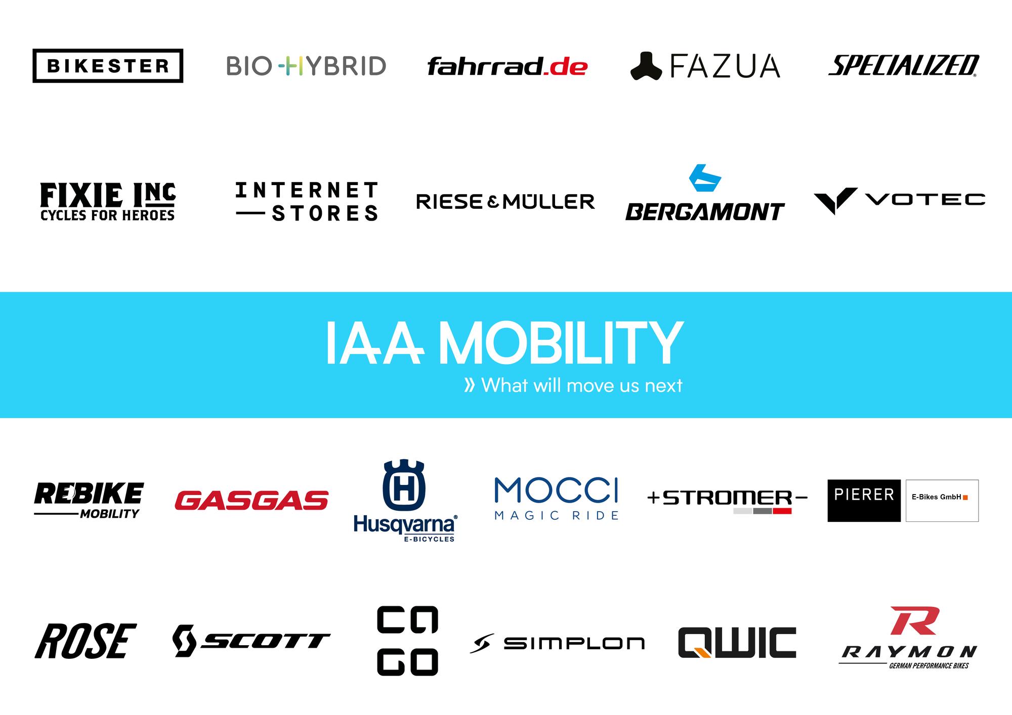 IAA MOBILITY verkündet erste Partner aus der Bike-Branche