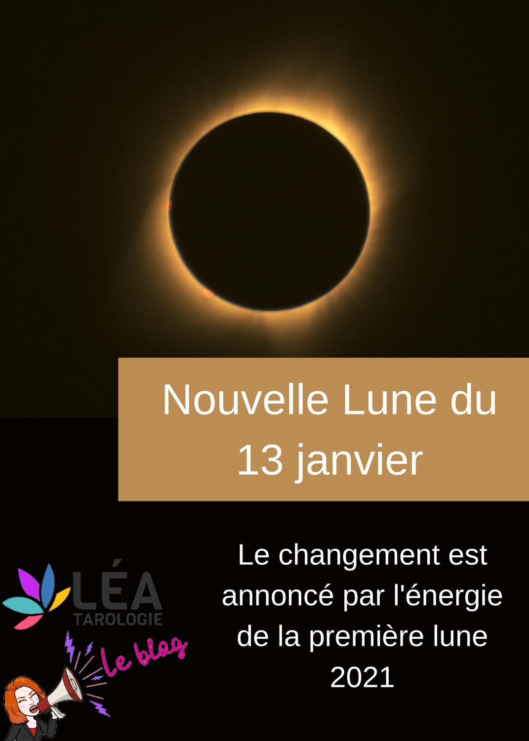Changements - énergies de la nouvelle lune de janvier 2021