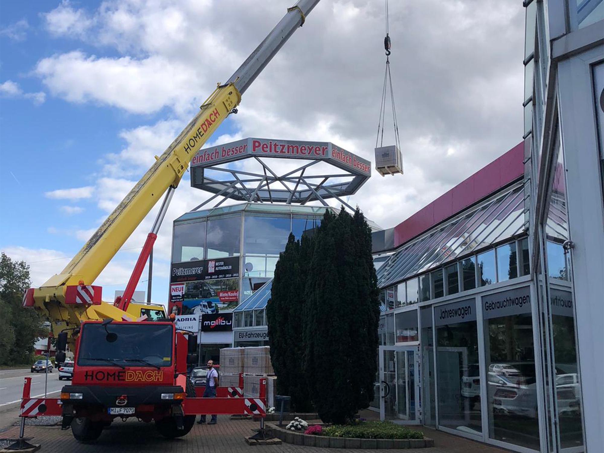Autohaus Peitzmeyer rüstet sich für die Zukunft