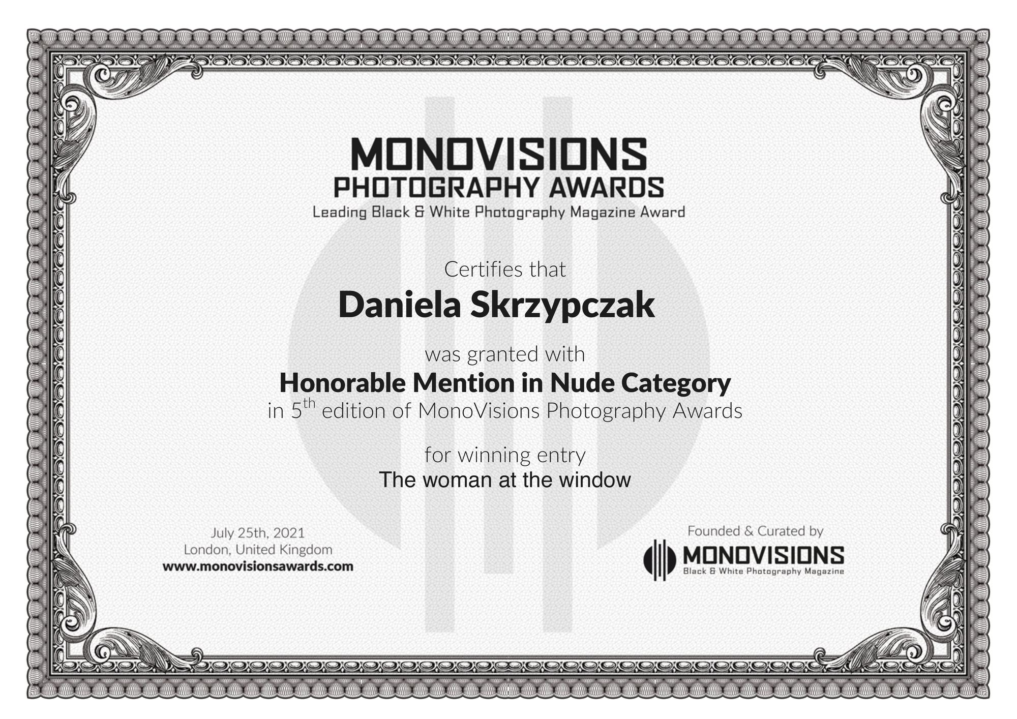 Monovisions Photography Award