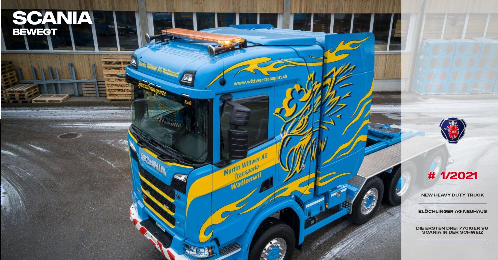 Scania Bewegt #1/2021