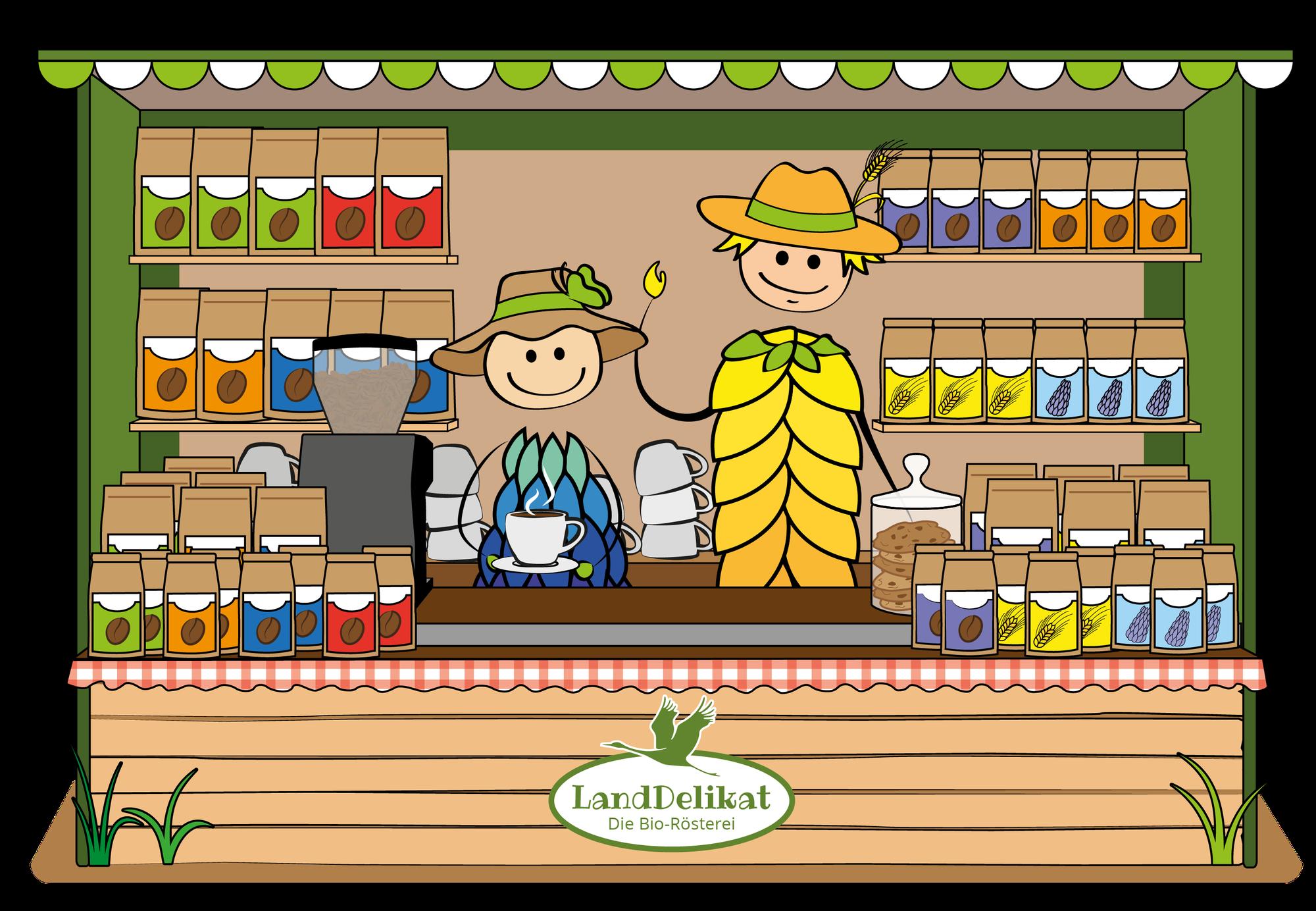 Unseren Lupinen- & Getreidekaffee  in Hamburg, Berlin oder Stettin kaufen?