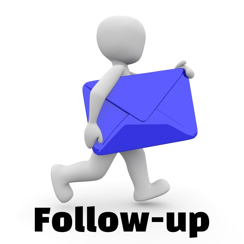Follow-up - E-Mail-Marketing