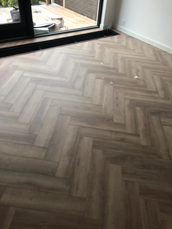 50 m² ICV456 Visgraat plus 66 m² Greenland Oak